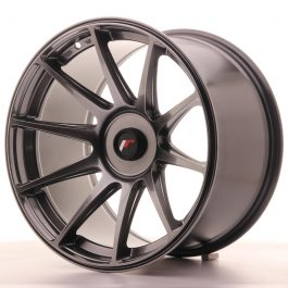 JR Wheels JR11 18×10,5 ET22-25 BLANK Dark Hyper Black