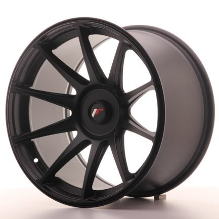 JAPAN RACING JR Wheels JR11 18x10,5 ET22-25 BLANK Flat Black 10.50x18