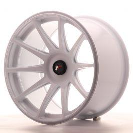JR Wheels JR11 18×10,5 ET22-25 BLANK White