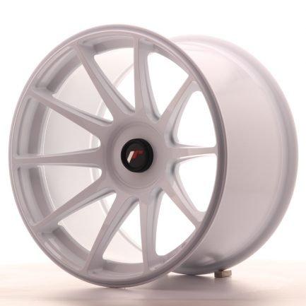 JAPAN RACING JR Wheels JR11 18x10,5 ET22-25 BLANK White 10.50x18