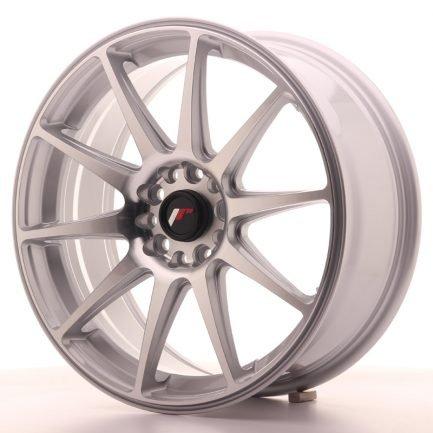 JAPAN RACING JR Wheels JR11 18x7,5 ET40 5x112/114 Silver Machined Face 7.50x18