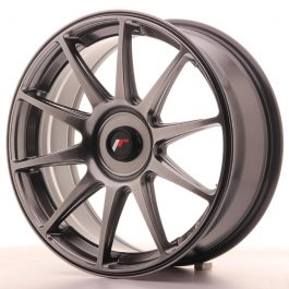 JR Wheels JR11 18×7,5 ET35-40 BLANK Dark Hyper Black
