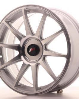 JR Wheels JR11 18×7,5 ET35-40 BLANK Silver Machined Face