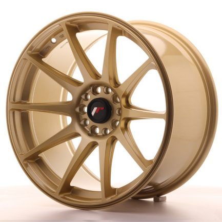 JAPAN RACING JR Wheels JR11 18x9,5 ET30 5x112/114 Gold 9.50x18