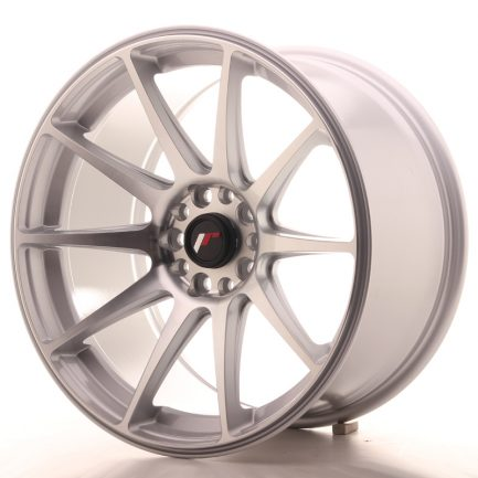 JAPAN RACING JR Wheels JR11 18x9,5 ET30 5x112/114 Silver Machined Face 9.50x18