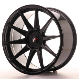 JR Wheels JR11 20×10 ET20-40 5H BLANK Gloss Black