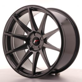 JR Wheels JR11 20×10 ET20-40 5H BLANK Hyper Black