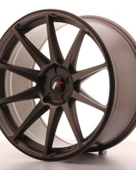 JR Wheels JR11 20×10 ET20-40 5H BLANK Matt Bronze