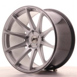 JR Wheels JR11 20×11 ET20-30 5H BLANK Hyper Silver