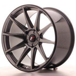 JR Wheels JR11 20×11 ET30-52 5H BLANK Hyper Black