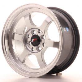 JR Wheels JR12 15×7,5 ET26 4×100/108 Hyper Silver w/Machined Lip