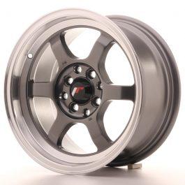 JR Wheels JR12 15×7,5 ET26 4×100/114 Gun Metal w/Machined Lip