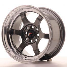 JR Wheels JR12 15×8,5 ET13 4×100/114 Gun Metal w/Machined Lip