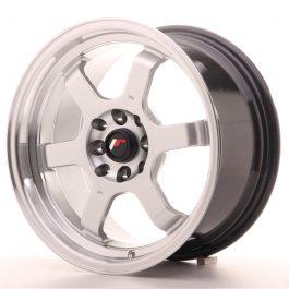 JR Wheels JR12 16×8 ET15 4×100/114 Hyper Silver w/Machined Lip