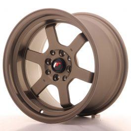 JR Wheels JR12 16×9 ET10 4×100/114 Matt Bronze