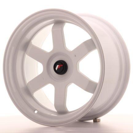 JAPAN RACING JR Wheels JR12 17x9 ET25 BLANK White 9.00x17