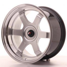 JR Wheels JR12 18×10 ET20-22 BLANK Hyper Silver w/Machined Lip