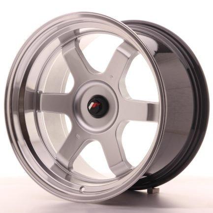 JAPAN RACING JR Wheels JR12 18x10 ET20-22 BLANK Hyper Silver w/Machined Lip 10.00x18