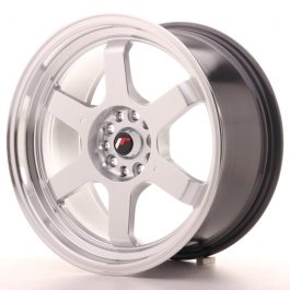 JR Wheels JR12 18×9 ET30 5×112/114,3 Hyper Silver w/Machined Lip