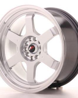 JR Wheels JR12 18×9 ET30 5×112/114,3 Hyper Silver w/Machined Lip