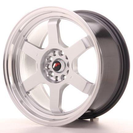 JAPAN RACING JR Wheels JR12 18x9 ET30 5x112/114,3 Hyper Silver w/Machined Lip 9.00x18