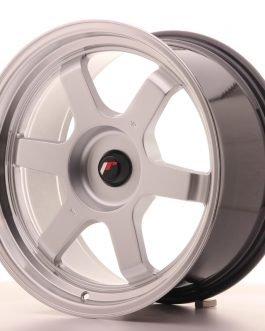 JR Wheels JR12 18×9 ET25-27 BLANK Hyper Silver w/Machined Lip