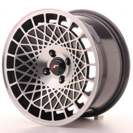 JR Wheels JR14 15×8 ET20 4×100 Gloss Black w/Machined Face
