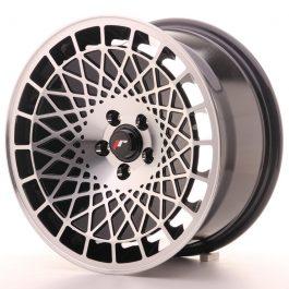JR Wheels JR14 16×8 ET15 4×100 Gloss Black w/Machined Face