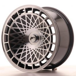 JR Wheels JR14 17×8,5 ET15 BLANK Gloss Black w/Machined Face