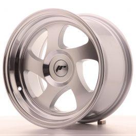 JR Wheels JR15 15×8 ET20 BLANK Silver Machined Face