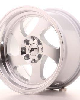 JR Wheels JR15 15×8 ET20 4×100/108 Silver Machined Face