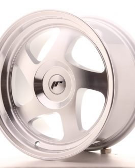 JR Wheels JR15 16×8 ET25 BLANK Silver Machined Face