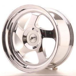 JR Wheels JR15 16×8 ET25 BLANK Vacum Chrome
