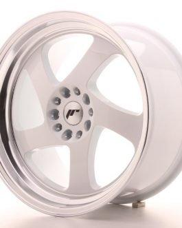 JR Wheels JR15 18×9,5 ET40 5×112/114 White w/Machined Lip
