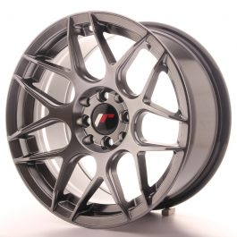 JR Wheels JR18 16×8 ET25 4×100/114,3 Hyper Black