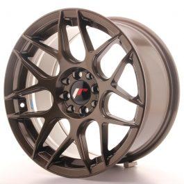 JR Wheels JR18 16×8 ET25 4×100/114,3 Matt Bronze