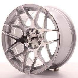 JR Wheels JR18 16×8 ET25 4×100/108 Silver Machined Face
