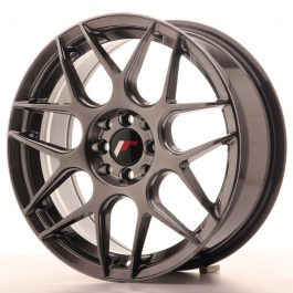 JR Wheels JR18 17×7 ET40 4×100/114 Hyper Black