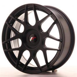 JR Wheels JR18 17×7 ET20-40 BLANK Matt Black