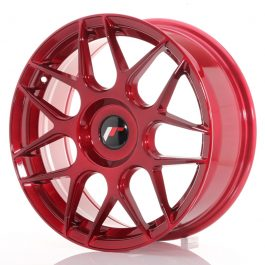 JR Wheels JR18 17×7 ET20-40 BLANK Platinum Red