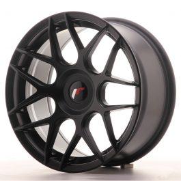 JR Wheels JR18 17×8 ET25-35 BLANK Matt Black