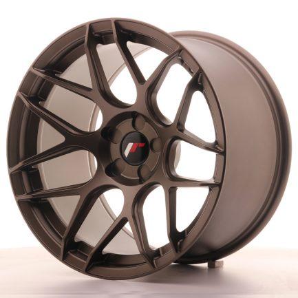 JAPAN RACING JR Wheels JR18 18x10,5 ET0-25 5H BLANK Matt Bronze 10.50x18