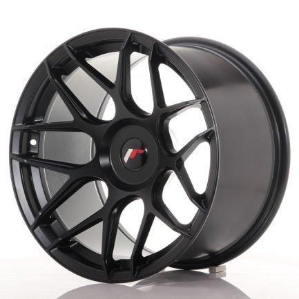 JAPAN RACING JR Wheels JR18 18x10,5 ET0-25 BLANK Matt Black 10.50x18