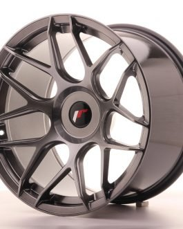 JR Wheels JR18 18×10,5 ET0-25 BLANK Hyper Black