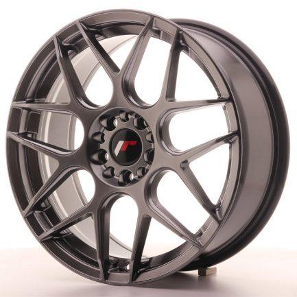 JAPAN RACING JR Wheels JR18 18x7,5 ET40 5x112/114 Hyper Black 7.50x18