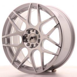 JR Wheels JR18 18×7,5 ET40 5×100/120 Silver Machined Face