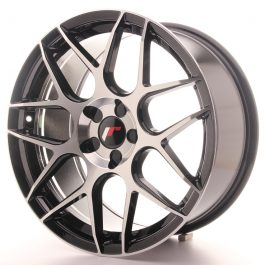 JR Wheels JR18 18×8,5 ET35-45 5H BLANK Gloss Black Machined Face