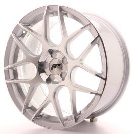 JR Wheels JR18 18×8,5 ET35-45 5H BLANK Silver Machined Face