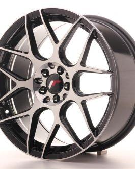 JR Wheels JR18 18×8,5 ET40 5×112/114 Gloss Black Machined Face