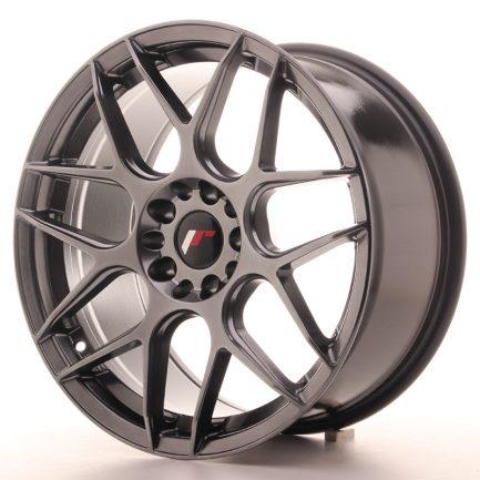 JAPAN RACING JR Wheels JR18 18x8,5 ET40 5x112/114 Hyper Black 8.50x18